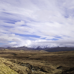 The Cuillins-2 (wacphoto) Tags: nature rural landscape outdoors scotland skies isleofskye unitedkingdom hills fields cuillins isle cuillinhills snowcovered mountainscape fuji23mm fujixti