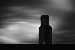 (Attila Pasek) Tags: uk sky bw cloud black tower contrast dark dramatic dorset horton contrasty longexposuretime