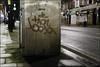 10Foot (Alex Ellison) Tags: urban night graffiti boobs tag damage graff telephonebox phonebox northwestlondon 10foot metaletch
