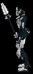 Makuta Krika V3 (---//?//---) Tags: lego bionicle krika ldd makuta
