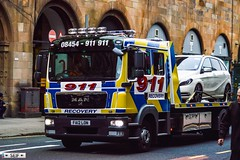 Man Glasgow 2016 (seifracing) Tags: road rescue man scotland br traffic britain glasgow transport 911 scottish security voiture vehicles research british rue spotting services recovery strathclyde scania brigade 2016 seifracing
