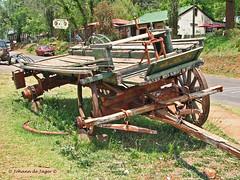 Waiting for spares.... (Johann (Sasolburg, RSA)) Tags: wagon wa dilapidated pilgrimsrest pelgrimsrus