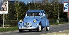 Citron 2CV 1989 (XBXG) Tags: auto old france classic car vintage french automobile citron voiture 02 2cv 1989 frankrijk eend geit picardie ancienne 2pk picardy 2cv6 citron2cv aisne franaise deuche picardi deudeuche vervins bb919gz