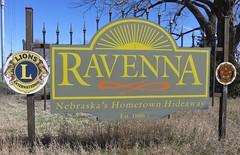 Ravenna Welcome Sign (Ravenna, Nebraska) (courthouselover) Tags: nebraska ne ravenna buffalocounty citywelcomesigns