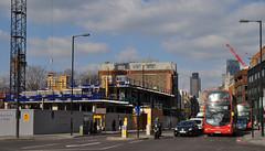Valentine Place u/c (stevekeiretsu) Tags: bus london tower42 ssc 122lh