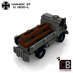 LEGO Custom MW Bundeswehr U1300-L Unimoc CB04A (LA-Design2012) Tags: army lego german instructions custom transporter bundeswehr moc 2t bauanleitung u1300l unimoc custombricks