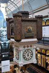 Aus875 - Royal Clock, Queen Victoria Building (Donna's View) Tags: clock nikon sydney australia queenvictoriabuilding d60 royalclock