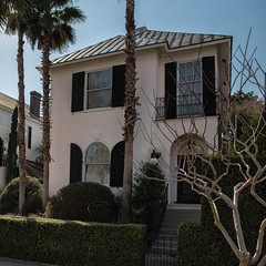 East Bay St. residence (Mark Heine Photos) Tags: architecture us shadows unitedstates southcarolina historic charleston palmtree palmetto liveoaks markheine