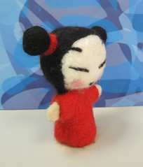 Pucca (aki-ross) Tags: felting handmade pucca
