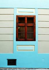 Sighisoara Windows 16 (PM Kelly) Tags: street travel windows light abstract color colour art window ventana one 1 romania frame sighisoara