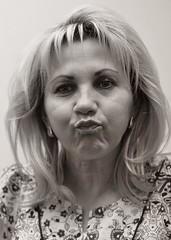 Ruza Razzberry (Oliver Leveritt) Tags: portrait monochrome umbrella flash sb600 speedlight brolly sb800 offcameraflash creativelightingsystem nikoncls su800 nikond90 sigma50mmf14exdghsm oliverleverittphotography photeksoftlighteriisl500046inch