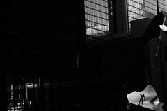(Paul is Moody) Tags: street urban chicago silhouette cityscape streetphotography minimal skate