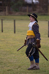 Image by Sam Conboy of Norfolke Trayned Bandes (Loudouns.Regiment) Tags: scotland reenactment luss ecws