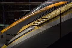 Monday afternoon at St Pancras (justindperkins) Tags: uk london station train rail stpancras tmst e320 class373 class374 velaro