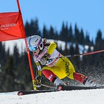 Whistler Cup Ladies' U16 SG - Eloise Carle 2nd (CAN/QC) PHOTO CREDIT: Coast Mountain Photography www.coastphoto.com