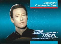 Star Trek The Next Generation 1992 series Trading Card 006 Front (zigwaffle) Tags: startrek card trading data 1992 startrekthenextgeneration paramount brentspiner impel