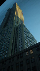 """First Impressions Sunset """"New York City, NY""""  """"Spring Visit 2016"""" (catchesthelight) Tags: sunset building skyscrapers dusk manhattan esb april empirestatebuilding artdeco deco firstimpressions 34thst 2016 newyorkcityny springvisit catchesthelight rightoutofcamera"""