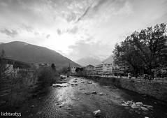 passerview (lichtauf35) Tags: meran passer monocrome altoadige wideangle river mountains alps blackwhite 1000views theperfectx lichtauf35
