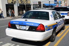 Picture Of City Of White Plains New York Police Department Car SOD 12 - 2009 Ford Crown Victoria. This Car Used To Be Car 23 (439) Traffic Unit. Photo Taken Saturday March 12, 2016 (ses7) Tags: new york city white police plains department of