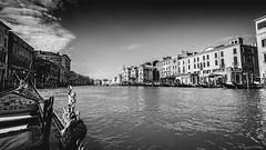 Venice (astrabaer8283) Tags: italien venice bw italy water canal it venezia gondolier veneto