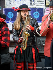 1_Oxford-2973 (AndyG01) Tags: city girls oxford busker sax saxophone morrisdancers