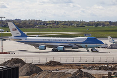 Air Force One Boeing 747 Hannover Airport (Gyroh) Tags: usa plane one airport force air president hannover boeing flughafen hanover flugzeug 747 haj planespotting prsident langenhagen eddv