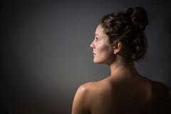 Exquisiteness (Pan) Tags: portrait beauty umbrella 50mm nikon flash amateur iknow d600 offcameraflashwithwhiteumbrella