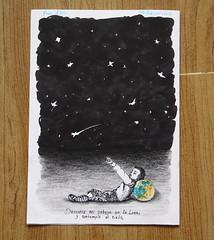 Universo (LEJZA) Tags: boy luna cielo nio lpiz universo marcador acostado otherplanet esfero rapidografo tnicasmixtas