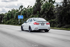 Rolling (Mode Carbon) Tags: classic rear wheels trophy r1 300 f80 carbon fiber m3 diffuser hre modecarbon