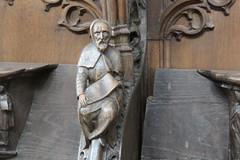 Sint-Geertruikerk, koorgestoelte (pdp.osdorp) Tags: leuven belgi kerk houtsnijwerk sintgeertruikerk koorgestoelte