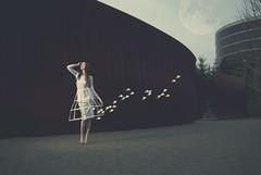 skylark (elle.hanley) Tags: fashion birds modern dress cage future futurist modernnature livingfashion ellehanleycom