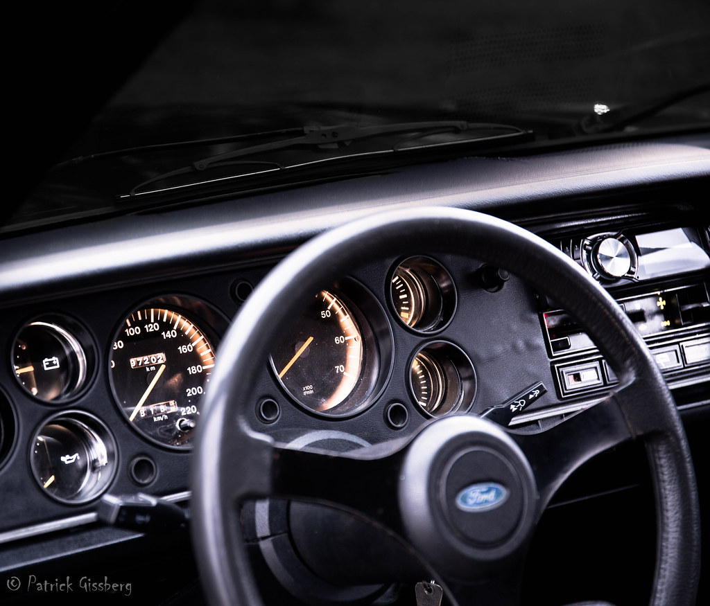 The Worlds Best Photos Of 1979 And Interior Flickr Hive Mind 1980 Ford Capri Pt 2 Gissberg Tags Car Dashboard Gauges