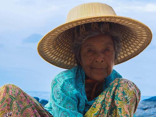 La dame au chapeau 2