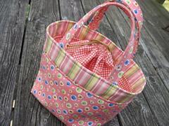 Drawstring Tote (Blue.Ridge.Girl) Tags: bag tote blueridgegirl