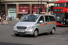 Mercedes Vito Taxi (Ian Press Photography) Tags: london mercedes cab taxi transport taxis cabbie vito