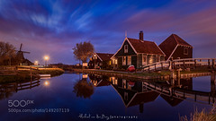 Cheese Farm Holland (l3v1k) Tags: street city travel blue light sunset sky sun holland water netherlands amsterdam cheese architecture night clouds michael north nederland nl van der zaanse schans burg refelction kaas 500px wbpa stadsregio ifttt