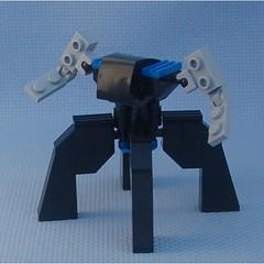 Mk. Zed (Mantis.King) Tags: lego scifi futuristic mecha mech moc multiped microscale mechaton mfz mf0 mobileframezero
