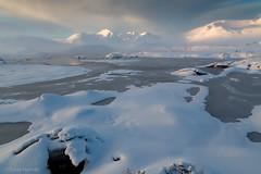 Deep Winter - Rannoch Moor (David Hannah) Tags: winter snow black mountains cold ice scotland glen mount moor coe munro rannoch