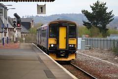 153382 | Newton Abbot | Riviera Line (Western Railway Photography) Tags: blue station riviera great first railway super class line western newton pacer abbot 143 153 sprinter dmu 153382