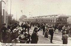 President Taft Passing Through Portage, 9-17-1909, 2
