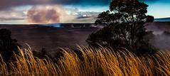 Tt Pele rests (Culinary Fool) Tags: morning tree vent volcano hawaii december steam caldera bigisland barren scorched 2015 culinaryfool volcanoesnationalpark klauea halemaumaucrater 2470mm28 brendajpederson