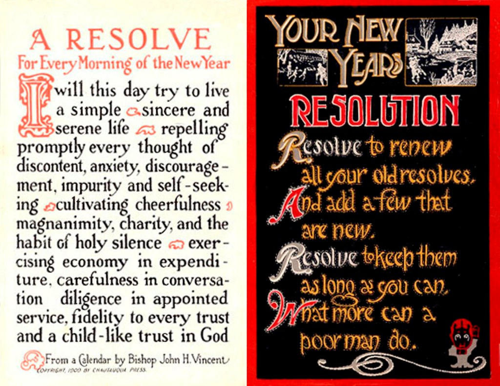 new year resolution for love