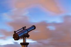 Douce nuit (Jean-Adrien Morandeau) Tags: sunset sky orange night pose de star soleil nikon long exposure coucher ciel nuit toiles longue