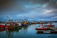 Fishing Harbour (William MacGregor) Tags: sea sky seascape water canon landscape boats scotland boat fishing waterfront harbour outdoor ngc vehicle 5d dslr damncool 50d yourbestoftoday macgregorwilliam