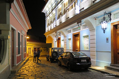 Las Peas - Guayaquil (Fabio Bianchi 83) Tags: street city southamerica night noche ecuador strada notte guayaquil citt sudamerica suramerica laspeas equatore americadelsud