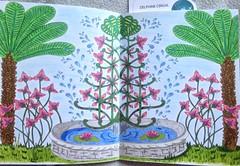 Jardins  colorier de Maud Taron #zendessin (delphinecingal) Tags: colors couleurs coloring coloriage pastelssecs maudtaron feutrespitt zendessin jardinscolorier