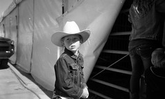 Cowgirl (zerotolerenc) Tags: county statefair filmcamera cowgirl olympusxa allamericangirl
