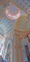 Vertical Panoramic View to our lady angels church pondicherry (pondicherry arun) Tags: church panoramic pondicherry