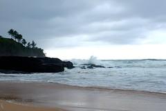Surf at Secret Beach (pburka) Tags: ocean beach hawaii sand surf waves pacific secretbeach kauai