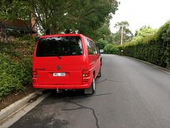 Relo parked in Belgrave (yewenyi) Tags: vw australia melbourne victoria van t4 belgrave relo rel000